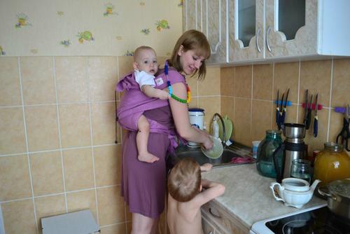 Работаем вместе с мамой