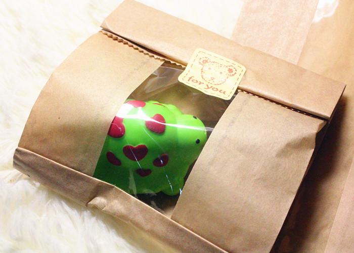 Упаковка печенья  в крафт бумагу