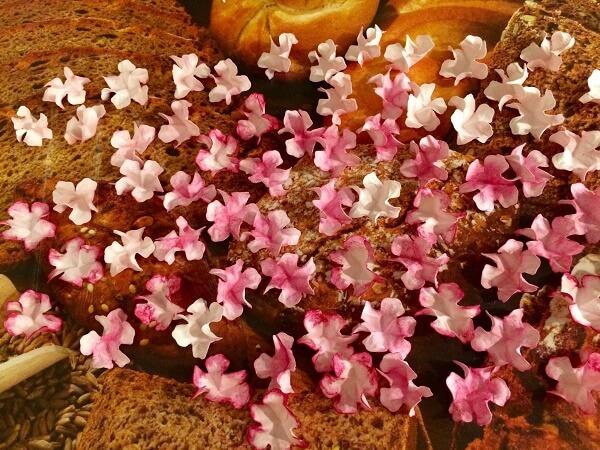 заготовки из бумаги для цветов
