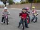 Детские соревнования на беговелах (беговелогонки)